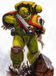 Imperial Fist Space Marine