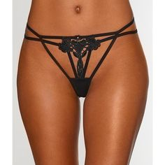 Bluebella Nova G-String ($30) ❤ liked on Polyvore featuring intimates, panties, g-string, panty, women, lingerie panty, gstring panties, g string panties, panties lingerie and g string panty