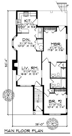 Duplex Plan chp-24821 at COOLhouseplans.com