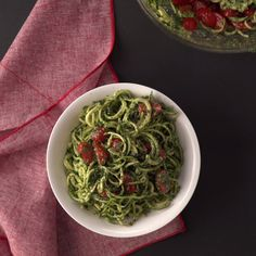 Pesto pasta without the carby guilt!