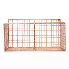 Buy the Copper Grid Two Shelf Wall Storage at Oliver Bonas. We deliver Homeware throughout the UK within 5-12 working days from £14.