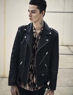 AllSaints Men's February Lookbook Look 8: The Arc Shoe, Tallis Trouser and Juneau Ss Shirt