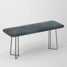 "Park it in style on this incredibly versatile bench, upholstered with vegan leather featuring all the designs you love. The perfect indoor bench, it will give any space an instant upgrade. Dress it with plush blankets or throw pillows to keep it elegant, but super cush.    -44"" x 16"" x 18"" (H)   -Steel legs available in gold or black   -Wipe clean with damp cloth   -Assembly required    #### Please note: all furniture is custom-made and printed u... Plush Blankets, Throw Pillows, Vegan Leather, Cleaning Wipes, Bench, Indoor, Note, Legs, Steel"
