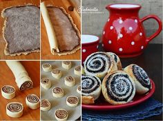 Villámgyors kakaós csiga I Love Food, Good Food, Hungarian Recipes, Cake Cookies, Cookie Recipes, Oreo, Breakfast Recipes, Deserts, Muffin