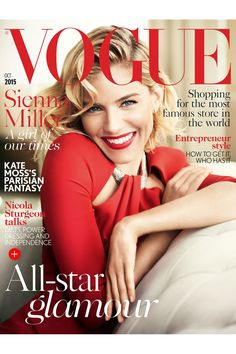 Sienna Miller Cover Star October 2015 Issue British Vogue (Vogue.co.uk)