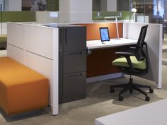 Altitude height-adjustable table from Allsteel, office furniture