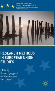 Research methods in European Union studies.    Palgrave Macmillan, 2015