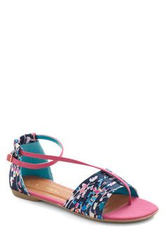 Twist of Gait Sandal, #ModCloth