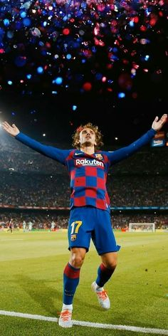 ✨ the griezmann special Fc Barcelona Players, Neymar Barcelona, Barcelona Soccer, Antoine Griezmann, Football Neymar, Messi Soccer, Nike Soccer, Soccer Cleats, France Football