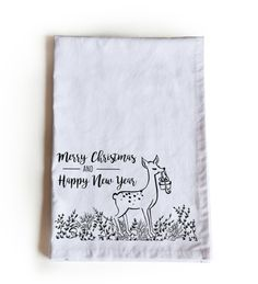 Holiday Kitchen Towels, Christmas Tea Towel, Gift Wrapping Cloth, New Year Tea Towels, Trending Gift Merry Christmas Greetings, Christmas Tea, Christmas Pillow, Merry Christmas And Happy New Year, Holiday, Dish Towels, Tea Towels, Thanksgiving Gifts, Business Gifts