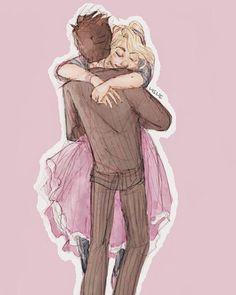 """Oh My Rose, your arms are like a TARDIS: within them, I feel I could go anywhere, anytime."""