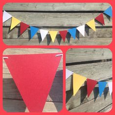 Pennant Banner Flag Banner Flag Garland by 2inspiredcrafters