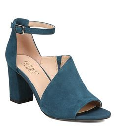 b99ac9a14919b1 This Aegean Gayle Suede Sandal - Women is perfect!  zulilyfinds Ankle Strap  Block Heel
