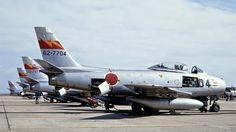 shows my photos of the North American Sabre taken in Japan during the and the Fighter Aircraft, Fighter Jets, Sabre Jet, Show Me Photos, Korean War, Aviation, Army, American, Vehicles