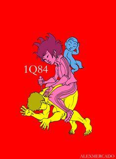 Illustration of 1Q84