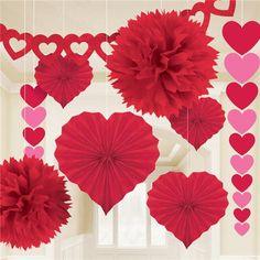 Kit Ahorro Decoración  San Valentin http://www.airedefiesta.com/product/8241/0/0/1/1/Kit-Ahorro-Decoracion-San-Valentin.htm