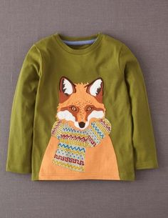 Winter Fun T-shirt 21659 Tops & T-shirts at Boden