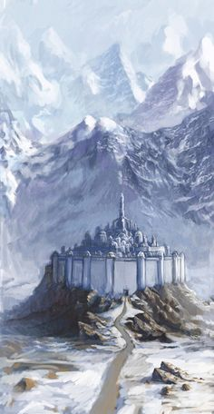 Gondolin, the fallen City