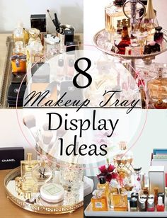 Babblings of a Mommy: 8 Makeup Tray Display Ideas
