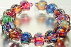 ABSOLUTELY GORGEOUS: Glass Boro Beads Lampwork BeadGlass BeadsBoro by amie3 on Etsy, $36.00