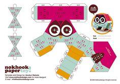 papertoy design by www.nokhookdesign.com