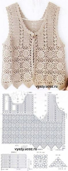 An ideal crochet bag model for the summer. We present you with beautiful crochet bag models made by the ingenious housewives. Crochet Bolero Pattern, Gilet Crochet, Crochet Jacket, Crochet Diagram, Crochet Cardigan, Crochet Motif, Crochet Shawl, Crochet Stitches, Knit Crochet
