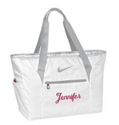 Two Bridesmaid Gifts, Nike Tote Bags, Bridesmaid Tote Bags, Monogram Bags, Wedding Party Gifts, Custom Gift, Personalized Gifts, Cre8ivGifts