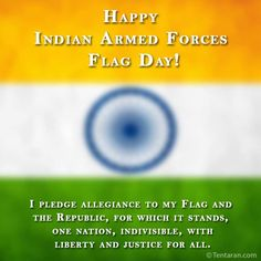 Indian Armed Forces Flag Day Images Quotes in English - Here are Armed Forces Flag Day photos, Armed Forces Flag Day quotes with images, whatsapp status.