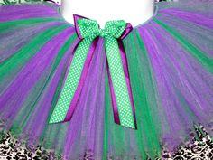 Purple and Green Hulk Tutu with Matching by Zobows on Etsy, $25.00