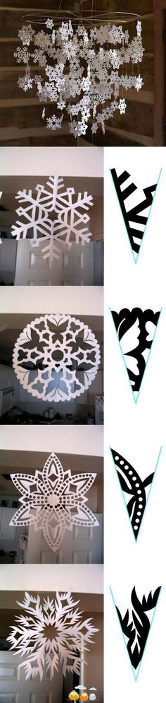 Snow flake tutorials! Could have used this about a week ago! Some of these are amazing!