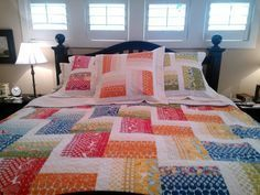 great jelly roll quilt {My Quilt Diet}