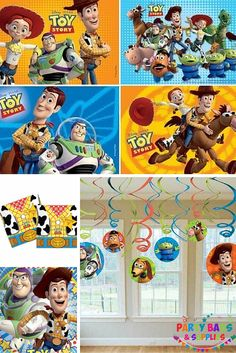 Reach for the sky! To infinity and beyond! Buzz, Woody and friends invite you to join them on their Toy Story and Toy Story 3 adventure with our brilliant range of official Toy Story party goodies including tableware, party packs, filled party bags, decorations, toys and fillers, banners, games and much more, all at fabulous prices. To see the full range, Click here - https://www.partybagsandsupplies.co.uk/themes/toy-story-party