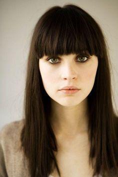 Flequillos 2016 | Tipos de Flequillo según la forma de tu rostro - Tendenzias.com