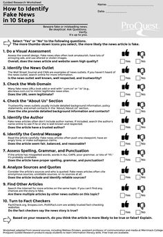 Share This » Blog Archive » How to Identify Fake News in 10 Steps
