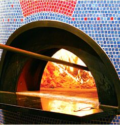 mosaic wood fired pizza oven...