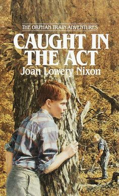 """""""Caught In The Act""""  ***  Joan Lowery Nixon  (1988)"""