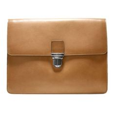 Vegetable Tan Leather Portfolio by Cole Haan