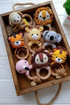 Crochet Baby Toys, Crochet Diy, Baby Hats Knitting, Crochet For Kids, Crochet Animal Patterns, Amigurumi Patterns, Doll Patterns, Crochet Doll Tutorial, Diy Baby Gifts