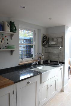 Image result for granite and oak worktop mix