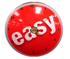 Easy Button CD Clock  Can Personalize Send Pic Great Gift #3