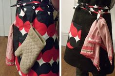 Ladies & Gentlemen Studio:: DIY Apron with Ikea Fabric