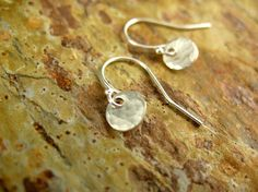 Small and Simple Earrings Sterling Silver by DreamingTreeCreation, $15.00