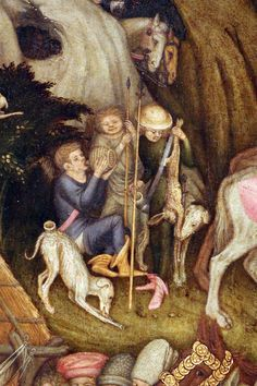Stefano da Verona. 1435. Brera. Adorazione dei pastori