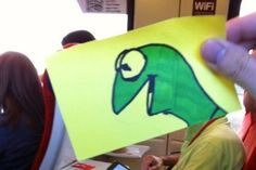What Happens When A Creative Guy Gets Bored On His Daily Commute? This Hilarious Epicness.