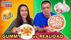 Gummy Vs Real Challenge Gomitas Y Realidad El Ajo Está Asqueroso Challenge Gomitas Ajo