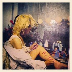Courtney Love. 1995.