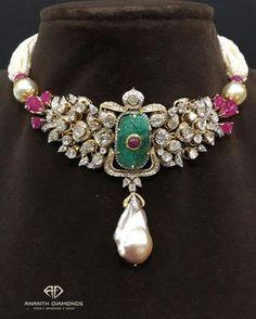 Jewelry Design Earrings, Gold Jewellery Design, Gems Jewelry, Necklace Designs, Jewelry Sets, Beaded Jewelry, Fine Jewelry, Jewelry Center, Yoga Jewelry