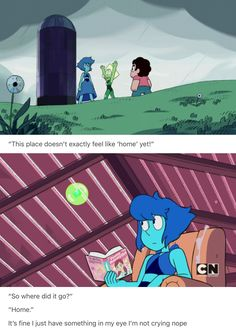 Lapis and Peridot are like adopted sisters it's so cute they act just like loving and annoying sisters I can't