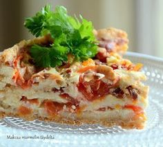 Lasagna, Food Inspiration, Sandwiches, Food And Drink, Baking, Ethnic Recipes, Bakken, Paninis, Backen