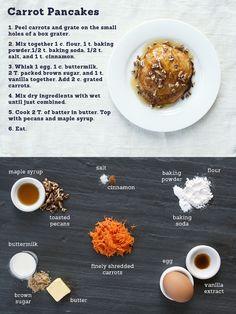 Carrot Pancakes - Made Weekly